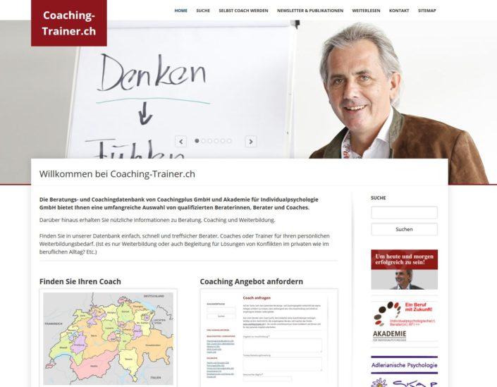 Coaching-Trainer.ch: Coach- und Trainer-Verzeichnis