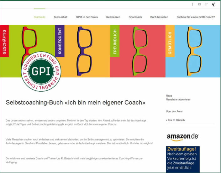 Sachbuch Bestseller: Ich bin mein eigener Coach